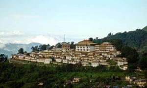 The Tawang monastery, near the border with China.