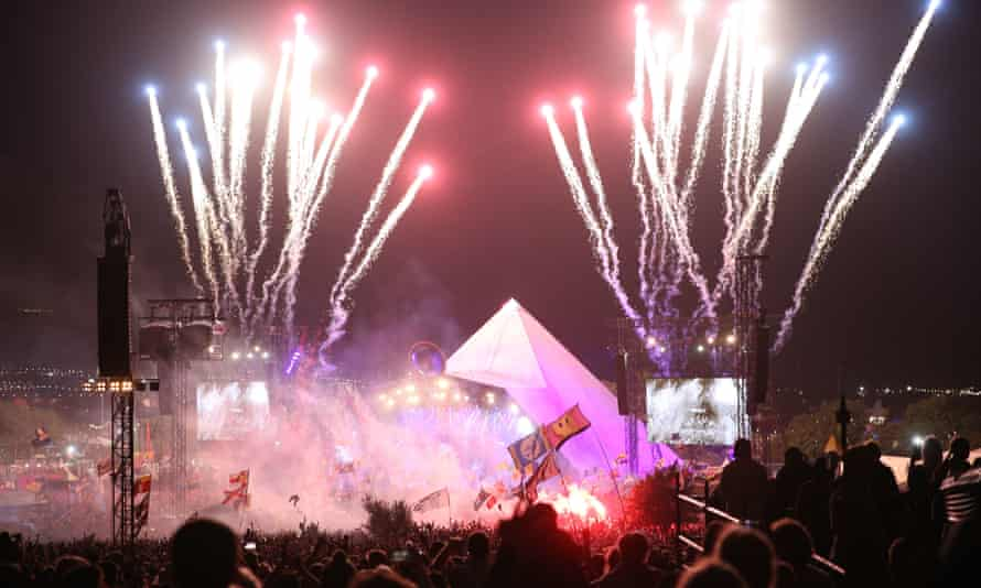 Glastonbury's Pyramid stage.