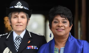 Cressida Dick and Doreen Lawrence