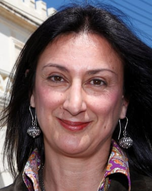 Daphne Caruana Galizia pictured in 2011.