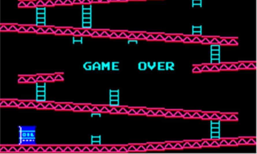 Donkey Kong. Not easy