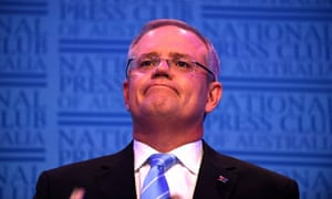 The treasurer, Scott Morrison
