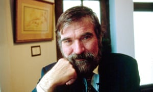 A portrait of Eric Hebborn in 1994.