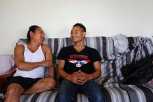 Po Ko Ko and August Htoo.