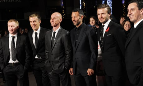 David Beckham: It's a 'great feeling' to join the Class of 92 at Salford City – video