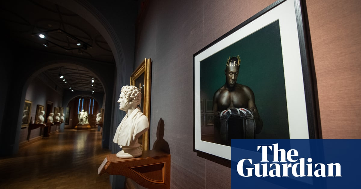 Image result for stormzy is first rapper in National Portrait Gallery.