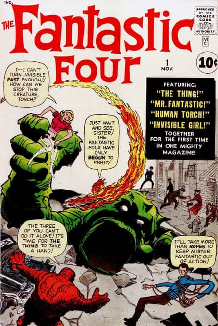 Fantastic Four #1, by Stan Lee and Jack Kirby
