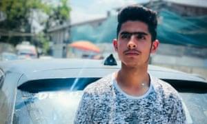 Asrar Ahmad Khan, a Kashmiri teenager who died on Tuesday.