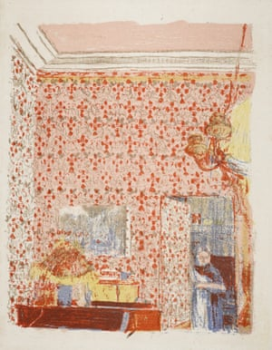 'The matriarch in everyone's lives': Interior with pink doorway (1899)