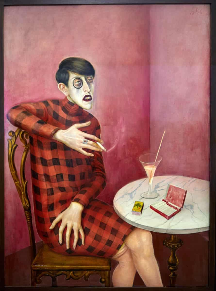 Otto Dix's 1926 portrait of the journalist and poet Sylvia von Harden.