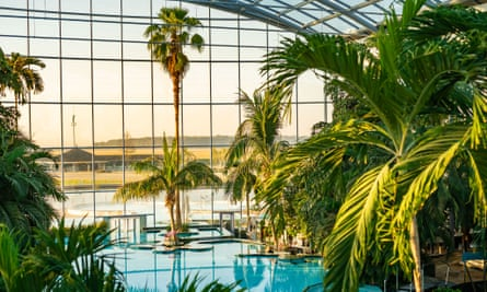 A stately pleasure dome … Therme Spa Bucharest