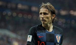 Luka Modric has led Croatia to the World Cup final after winning the Champions League with Real Madrid.
