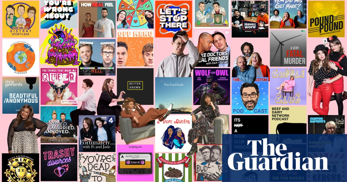 'I almost wet myself laughing': 50 funny podcasts to make you feel much better