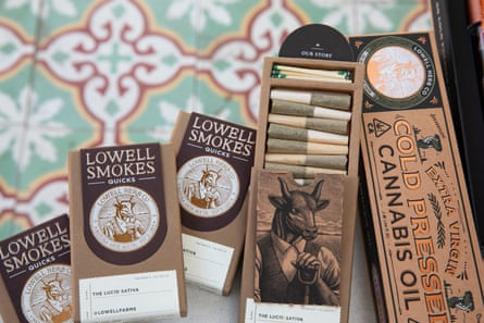 """At Lowell, guests will have the option of renting a bong or pipe, rolling their own joints or allowing a """"flower host"""" to roll for them."""