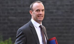 Dominic Raab's comments on Brexit negotiations seen as over-optimistic.