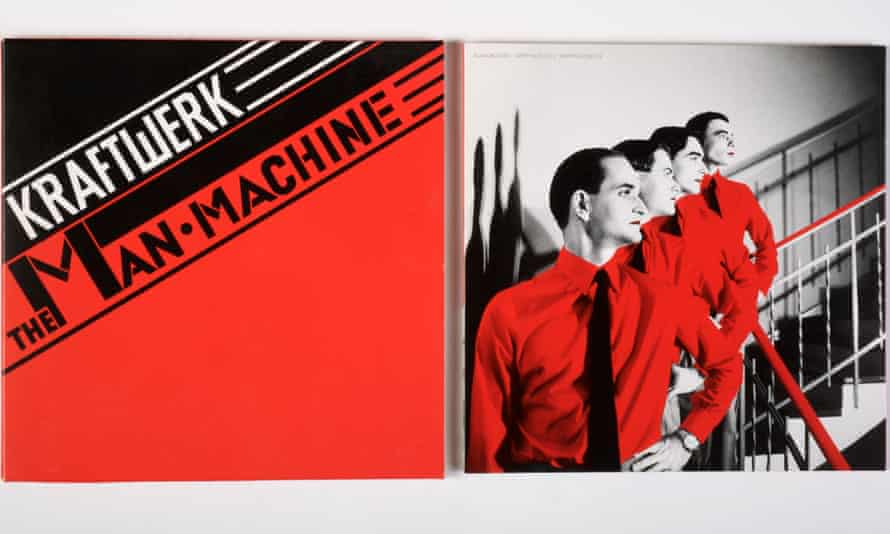 Kraftwerk's 1978 album The Man Machine, with artwork by Günther Fröhling, crystallised the idea of the band as a conceptual project.