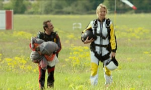 Jean Dujardin and Virginie Efira in Up for Love, a remake of the Argentinian comedy Corazón de León.