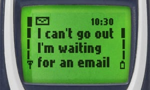 Seventeen years ago I'd spend an extra hour a day in front of my computer screen, because it was the only way I could access stuff.