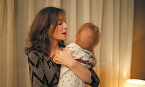 Isabelle Huppert in Things to Come.