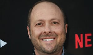 Author Jay Asher, pictured at the premiere of Netflix's 13 Reasons Why in 2017.