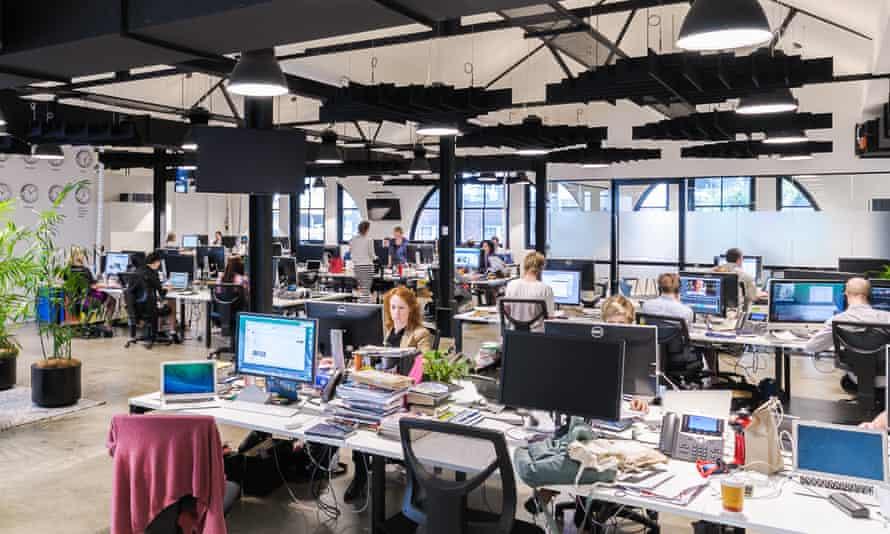 Guardian Australia's Sydney newsroom