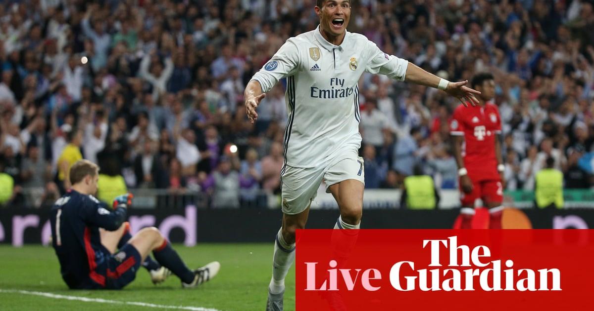 9b818ece653 Real Madrid 4-2 Bayern Munich (agg 6-3)  Champions League quarter-final –  as it happened