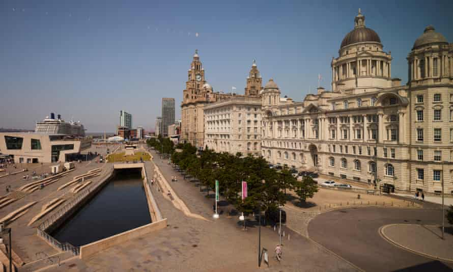 Liverpool's waterfront.