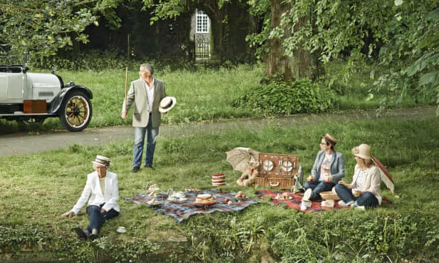 The Great British Bake Off team photographed for OFM in 2014