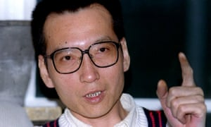 Liu Xiaobo in 1995. He dedicated his Nobel prize to the martyrs of Tiananmen Square.