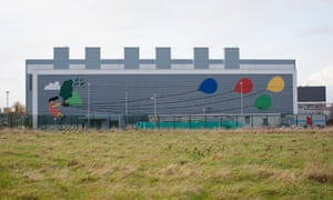 Google's data centre in Grange Castle, Dublin