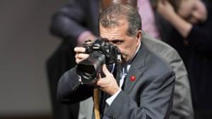 Pete Souza - President Barack Obama's personal White House Photographer. US President Barack Obama State Visit to Britain - 23 Apr 2016