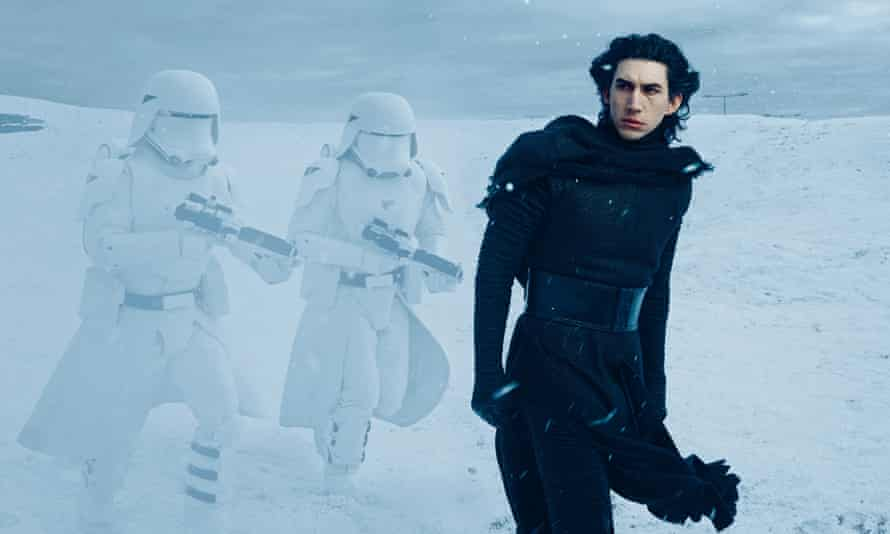 Blame the parents: Adam Driver as Kylo Ren in Star Wars: Episode VII – The Force Awakens.