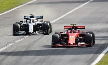 F1: Charles Leclerc wins Italian Grand Prix for Ferrari – as