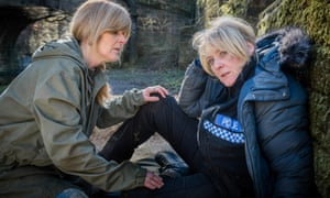 Sarah Lancashire in Happy Valley, series one.