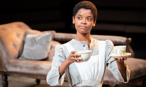 Captivating … Letitia Wright in The Convert at the Young Vic.