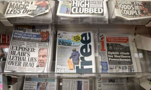 """The New Day launchCopies of the UK's first new stand-alone national newspaper in three decades, The New Day, are seen on sale in central London. PRESS ASSOCIATION Photo. Picture date: Monday February 29, 2016. Monday's first edition of The New Day features a front page with the headline """"Stolen childhood"""" on a splash about the """"plight of 40,000 infant carers"""". See PA story MEDIA Newspaper. Photo credit should read: Anthony Devlin/PA Wire"""