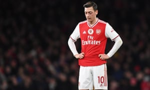 Arsenal's Mesut Ozil posted to his millions of social media fans about the persecution of Uighurs in China.