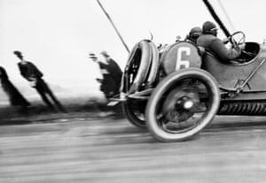 Grand Prix de l'ACF, Automobile Delage, Circuit de Dieppe, 1912
