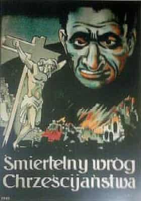 German artist Philipp Rupprecht's poster, with words in Polish.