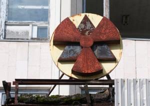 Nuclear sign.