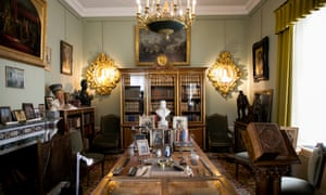 Wilhelm's library at Huis Doorn.