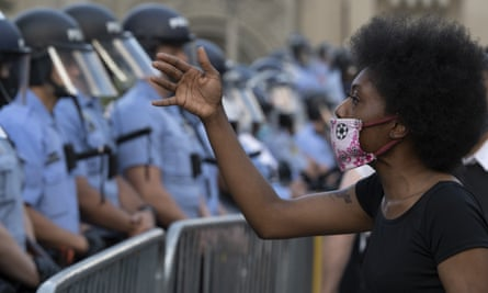 'The focus on the protesters' assaults on persons or property takes our attention away from the police killing of hundreds of black, poor and working-class people.'