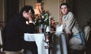Tom Burke and Honor Swinton Byrne in The Souvenir.