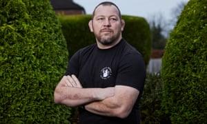 The former England hooker Steve Thompson