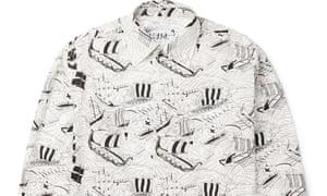 Nautical Prada shirt.