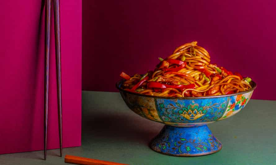 Hakka chow Asma Khan The Dish I Can't Live Without Food and prop styling: Polly Webb Wilson Observer Food Monthly OFM January 2018