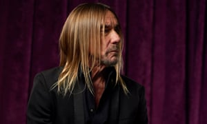 'A man of many, perhaps improbable, parts' ... Iggy Pop.