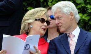 Hillary Clinton and Bill Clinton, May 2016
