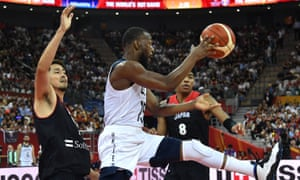 Kemba Walker was one of the stars of the game against Japan.