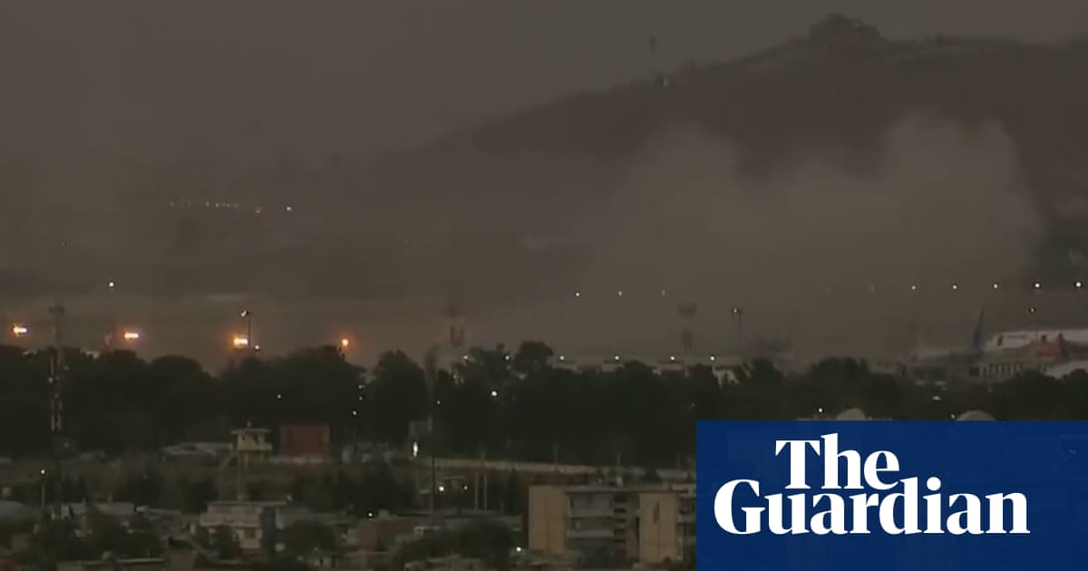 'People were hurled everywhere': witness describes Kabul airport blasts – video